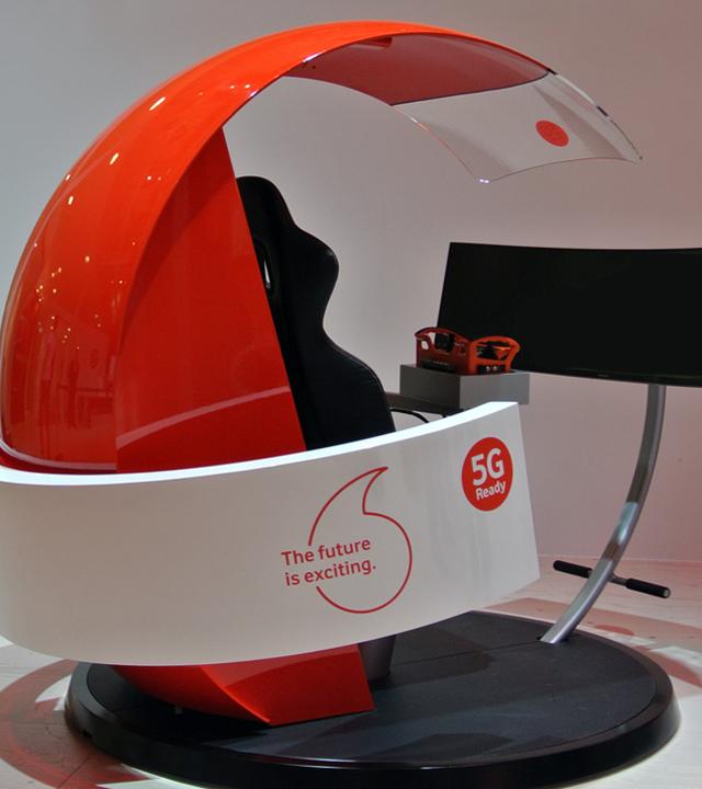 Vodafone Crane